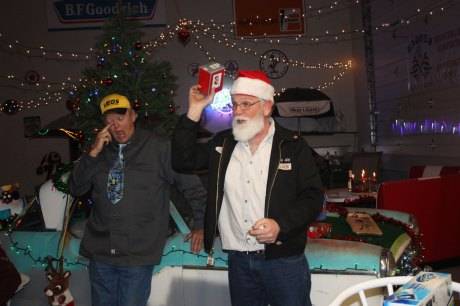 Santa party's with the BARONS