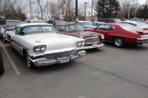 It was nice to see Virgil's 58 Pontiac out